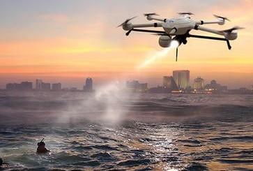 无人机操你啦日日操被用于海上救援的优势
