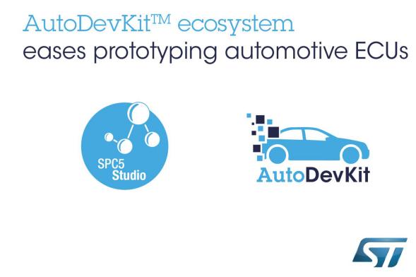 意法半導體加快汽車電子創新,推出功能強大的開發工具