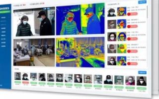 澎思推出智能無感人體測溫系統,具有三種業務模式功能