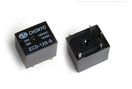 12V繼電器的工作原理