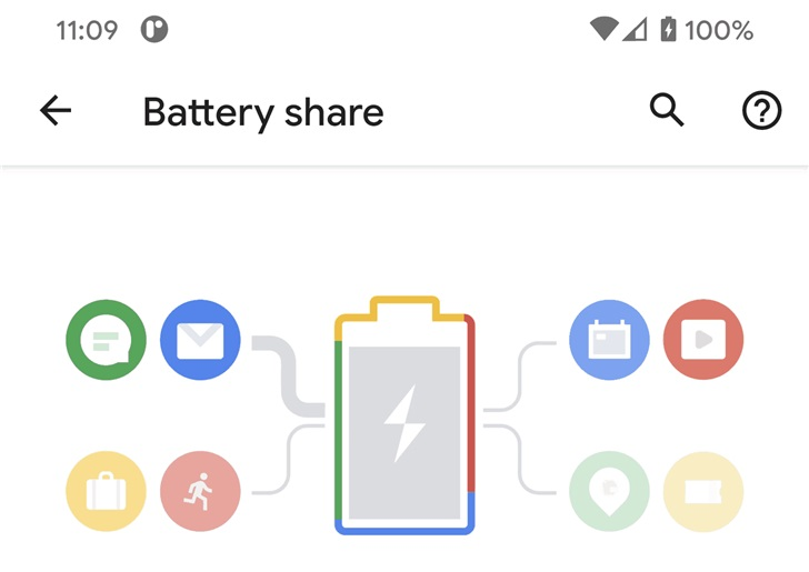Android 11電池共享功能類似于反向無線充電