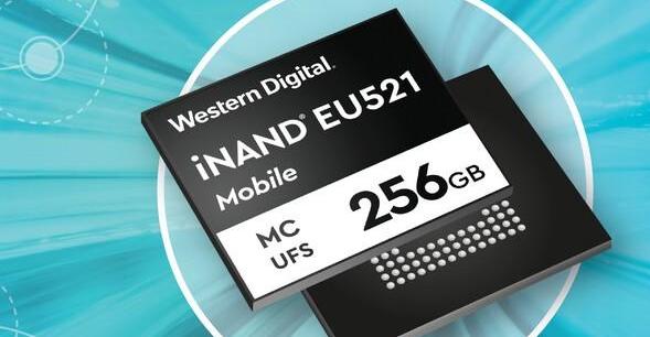 全球首個,西數發布UFS3.1閃存芯片