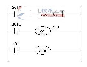 plc内部计数器编程的例子解析