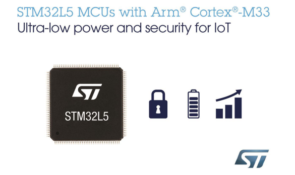 STMicroelectronics launches new generation of STM32L5 microcontrollers