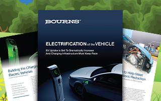 贸泽携手Bourns推出电子书 全面解读电动汽车充电设施相关知识