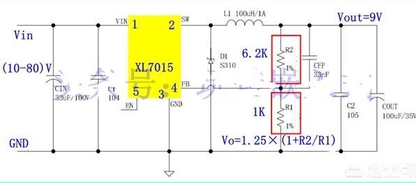 如何将60V通过稳压管和三极管降到9V