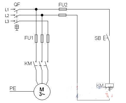 绘制与识读电气控制线路原理图遵循的原则