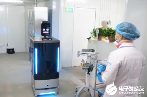 机器人助力医护人员 减少交叉感染