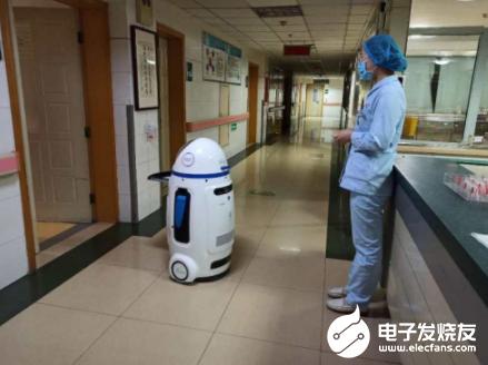 小胖机器人医院上岗 为医院一线作业提供了难以替代...