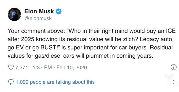 特斯拉的强大 最终会催生一个新的新能源汽车市场