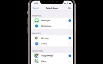 iOS 14将迎来大改变,或支持更改默认应用程序