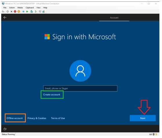 微软将调整Windows 10中本地帐户设置