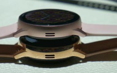 三星全新的不锈钢智能手表,配置8GB+330mA...
