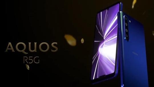 夏普旗下首款5G手機AQUOS R5G正式發布