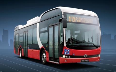 比亚迪拿下美国历史最大电动巴士订单,海外市场竞争力强劲