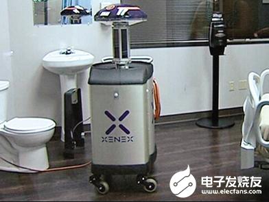 新型消毒机器人上岗 助力打赢疫情防控阻击战