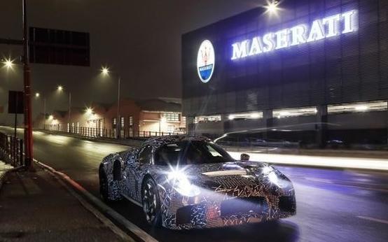 玛莎拉蒂MC20电动超跑将正式亮相