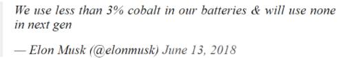 特斯拉確定采用磷酸鐵鋰 很可能引領行業潮流