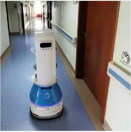 火神山医院送餐机器人是如何上班的