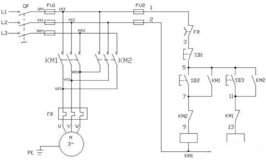 看懂电气图纸的三个重要步骤