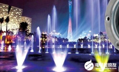 LED水底燈的安裝方法及注意事項