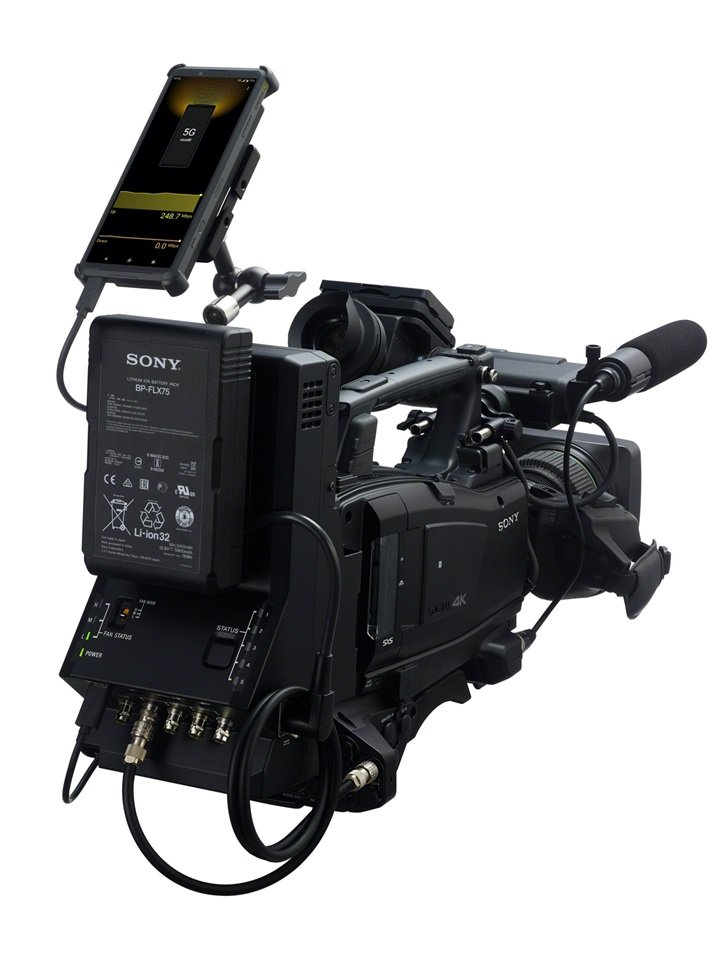 索尼Xperia Pro手机推出,可将其HDMI输入连接到相机输出
