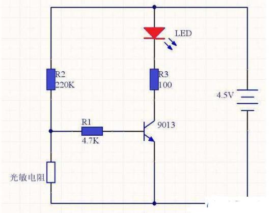 如何利用手机充电器控制发光LED
