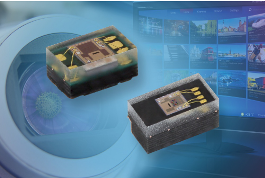 Vishay推出帶有I2C接口新型RGBC-IR...