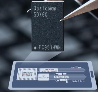 高通正式发布了第三代5G调制解调器到天线的解决方案