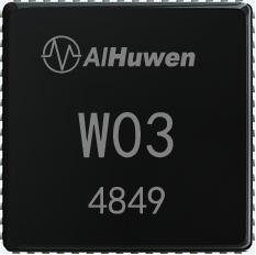 互问W03芯片是端云一体的语音处理芯片