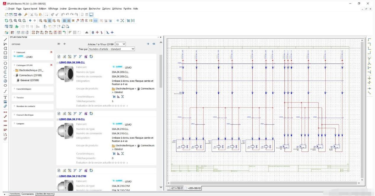 LEMO产品进入EPLAN Data Portal部件数据库
