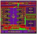 全球首款集成AI协处理器的x86处理器实照公布 采用LGA触点式封装方式