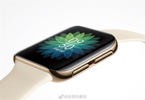OPPO智能手表3D玻璃盖板实拍图曝光 双曲面屏幕弧度相当之大