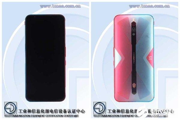 紅魔5G游戲手機入網 側面中框仍然保留風扇