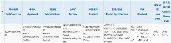 Redmi K30 Pro配置曝光,搭载高通骁龙865处理器