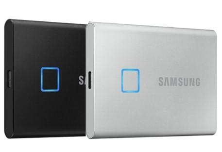 三星移动固态硬盘T7 Touch开启预售,内置指纹识别功能