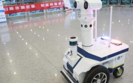 在抗疫前线,智能机器人前来助力