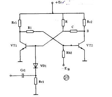 带延时功能的单稳电路分析