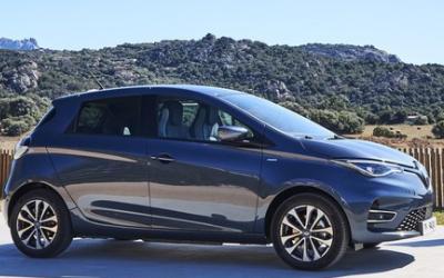 雷諾Zoe電動汽車銷量飆升,交付量同比增加一半