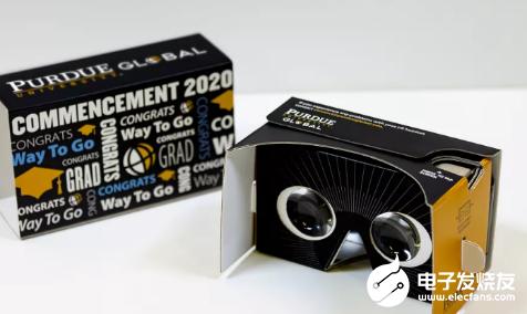 畢業生可以通過VR參加典禮 并通過360度攝像頭觀看頒獎典禮