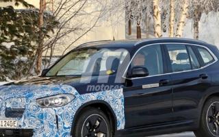 宝马ix3的低伪路试谍照曝光,最新五代BMW e...