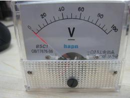 直流电压表电压测量的方法介绍
