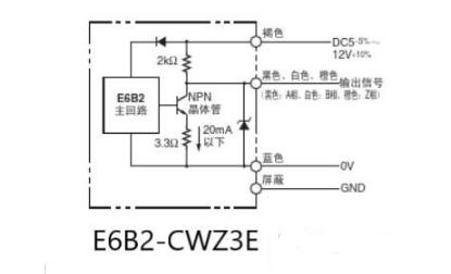 欧姆龙编码器的接线方法