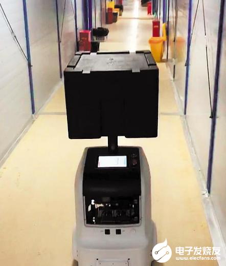 首臺醫療服務機器人到達武漢 減輕前線工作人員的負擔
