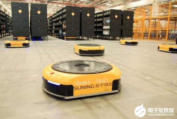 为了满足多种服务场景要求 5G物流机器人可以实现多向呼叫