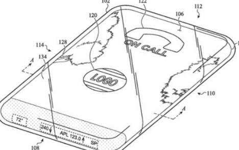 苹果搭乘环绕触摸屏和全玻璃的iPhone正在研发...