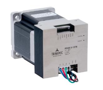 Trinamic推出最新的PANdrive?智能電機產品線
