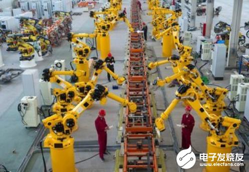 政策红利助推下 工业机器人发展空间将更加广阔