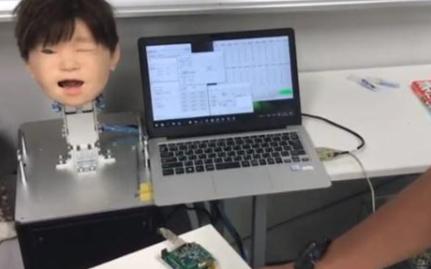 日本制造出了一款能够感知疼痛的智能机器人