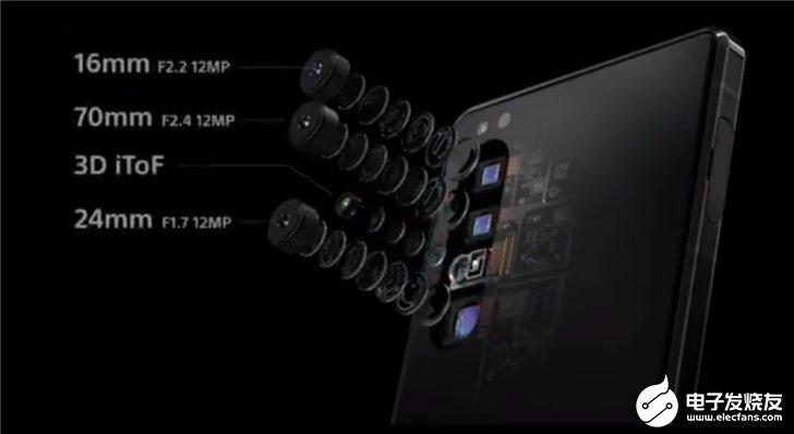 索尼旗舰新机Xperia 1 Ⅱ发布,搭载后置三摄像头